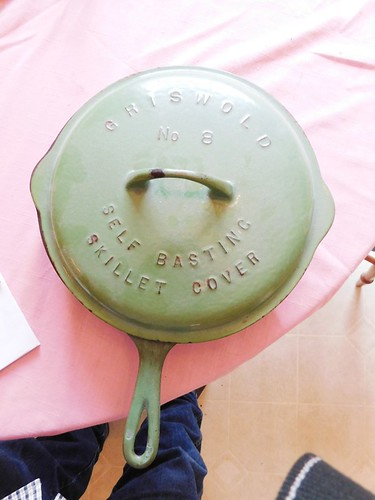 Griswold #8 green skillet | by thornhill3