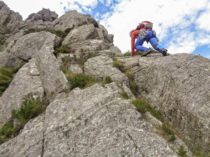 Quality scrambling on Nor Nor Buttress
