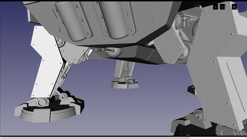 UA72107 3D 07 | par Cyber-Mecha