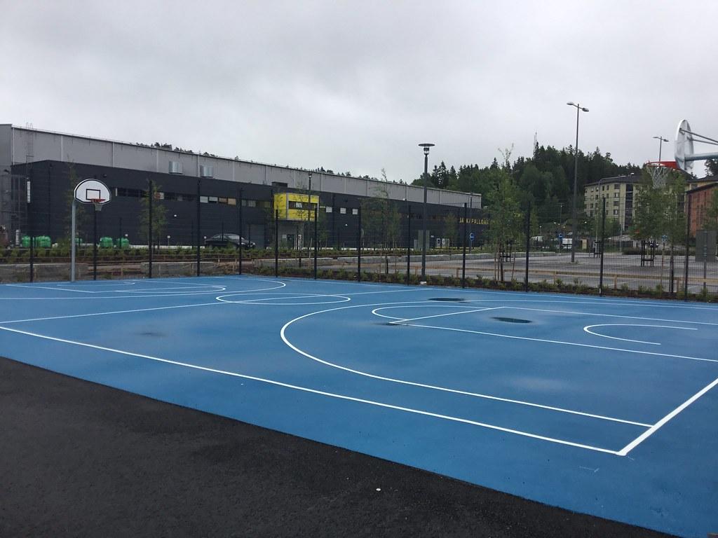 Kuva toimipisteestä: Keski-Espoon urheilupuisto / Koripallokenttä