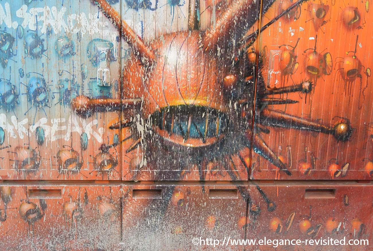 graffiti in Cologne