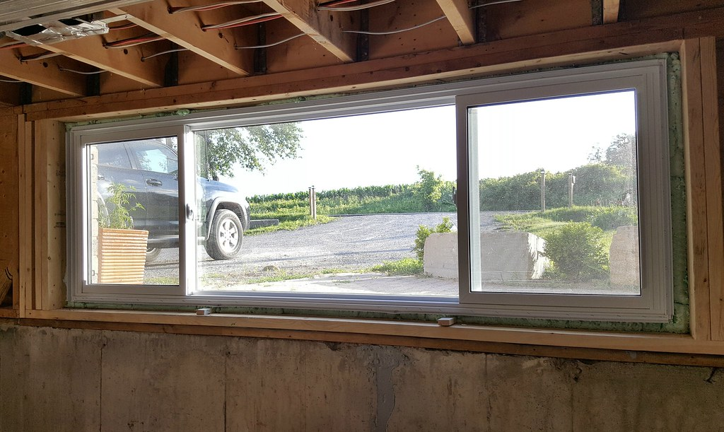 basement window replacement