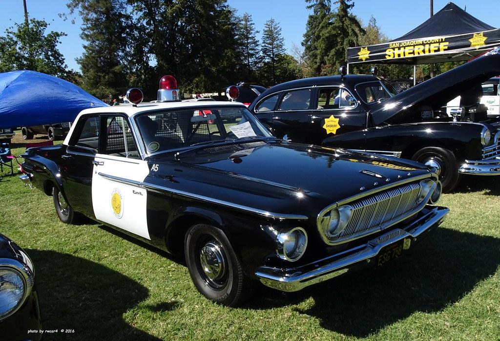 Tulare Ca Police 1962 Dodge Dart 330 Restored Replica 1 Flickr