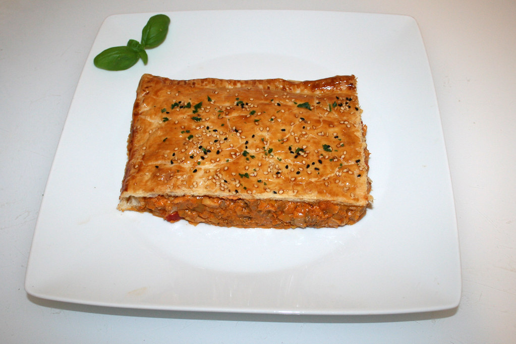 51 Ground Meat Leek Strudel With 3 Cheeses Served Ha Flickr