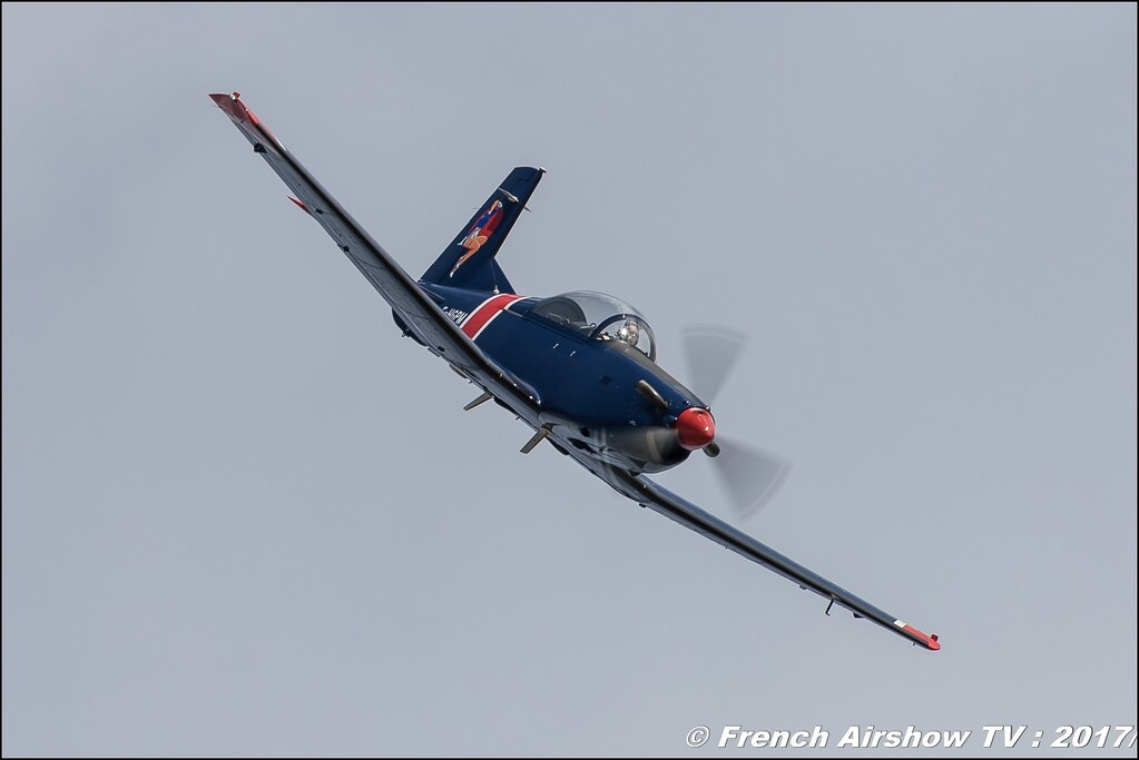 Pilatus PC-7 - F-HGPM , Meeting de France 2017 , Dijon longvic , Bleuciel Airshow, meeting aerien dijon 2017 , Meeting aerien de France a Dijon