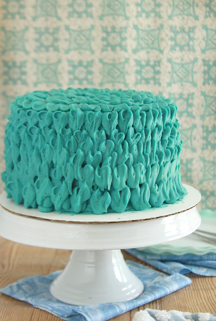 Marble Blue Cheese Layer Cake