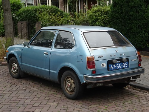 1977 honda civic this is a honda civic from the first. Black Bedroom Furniture Sets. Home Design Ideas