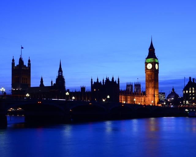 La hora mágica de Londres