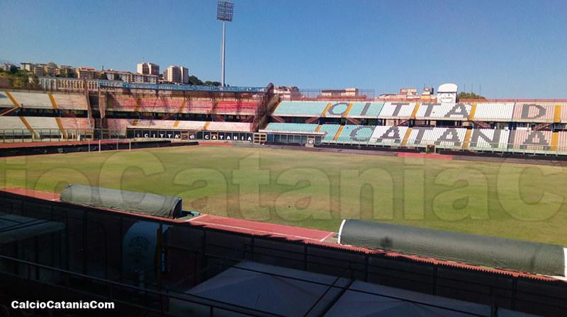 Le condizioni dello stadio