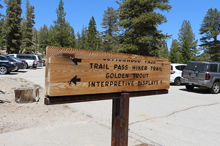 081 Trailhead for the Trail Pass Trail and the Cottonwood Pass Trail in Horseshoe Meadows | by _JFR_