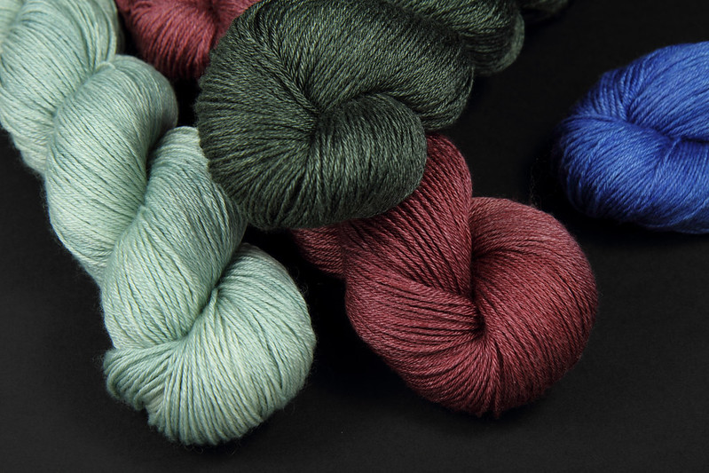 Brilliance 4 Ply in 'Silver', 'Garnet', 'Graphite' and 'Sapphire'