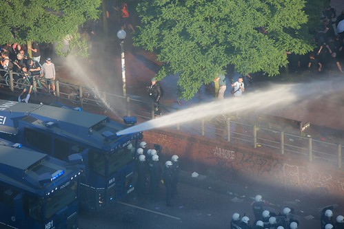 G20 Hamburg - the police build-up | by Rasande Tyskar