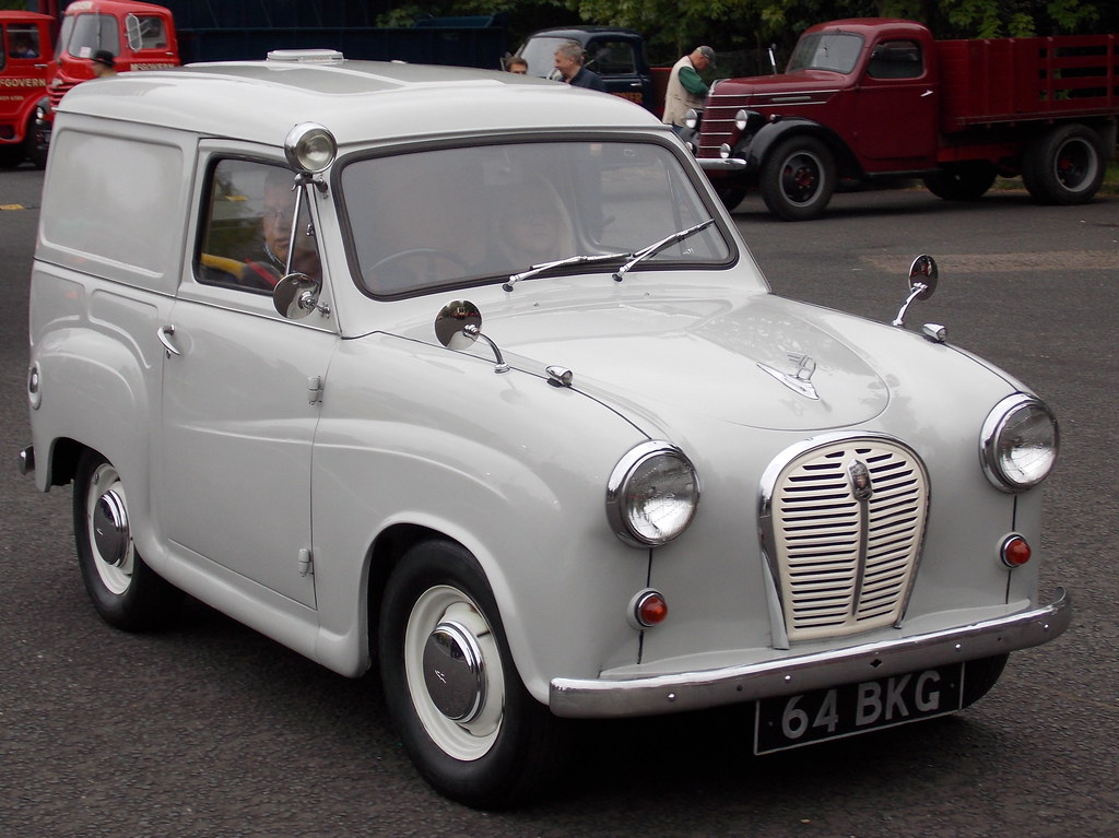 1962 austin a35 van london to brighton historic. Black Bedroom Furniture Sets. Home Design Ideas