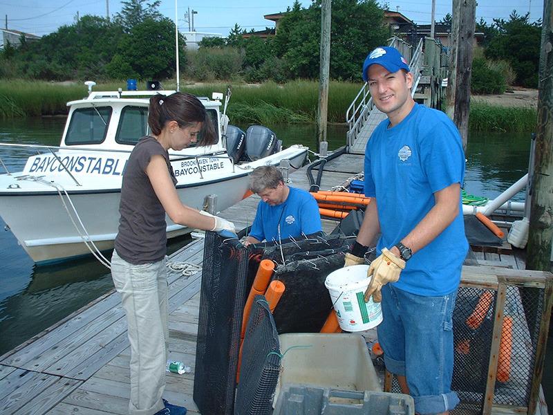 Coastal Steward: Shellfish Restoration - Casey Gobbi & Daniela