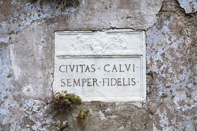 Semper Fidelus, Citadel, Calvi, Corsica