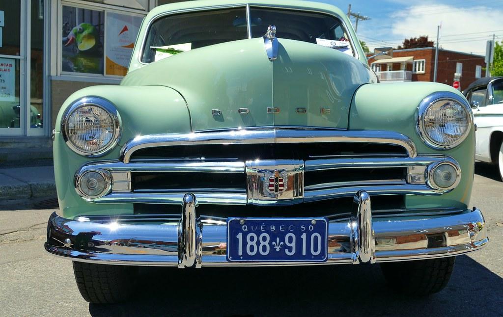Panasonic FZ1000, 1950 Dodge, Old Cars, Montréal, 4 June 2… | Flickr