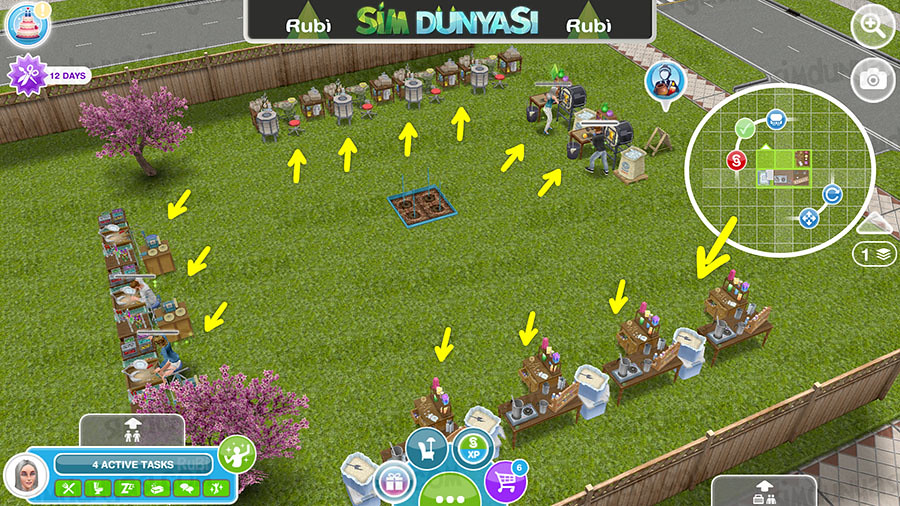 The Sims Freeplay Events Tip