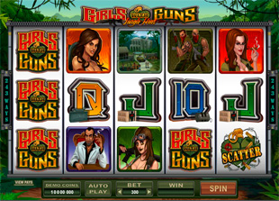 Girls with Guns - Jungle Heat Slot