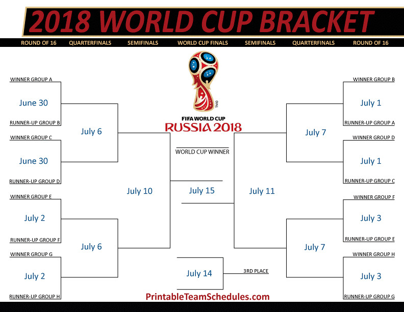 Canny image throughout fifa world cup bracket printable