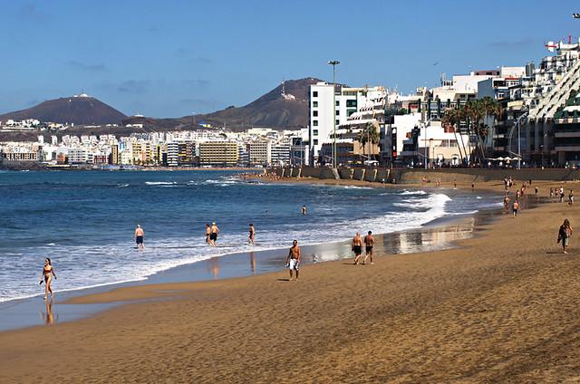 Playa de las Canteras, Gran Canaria
