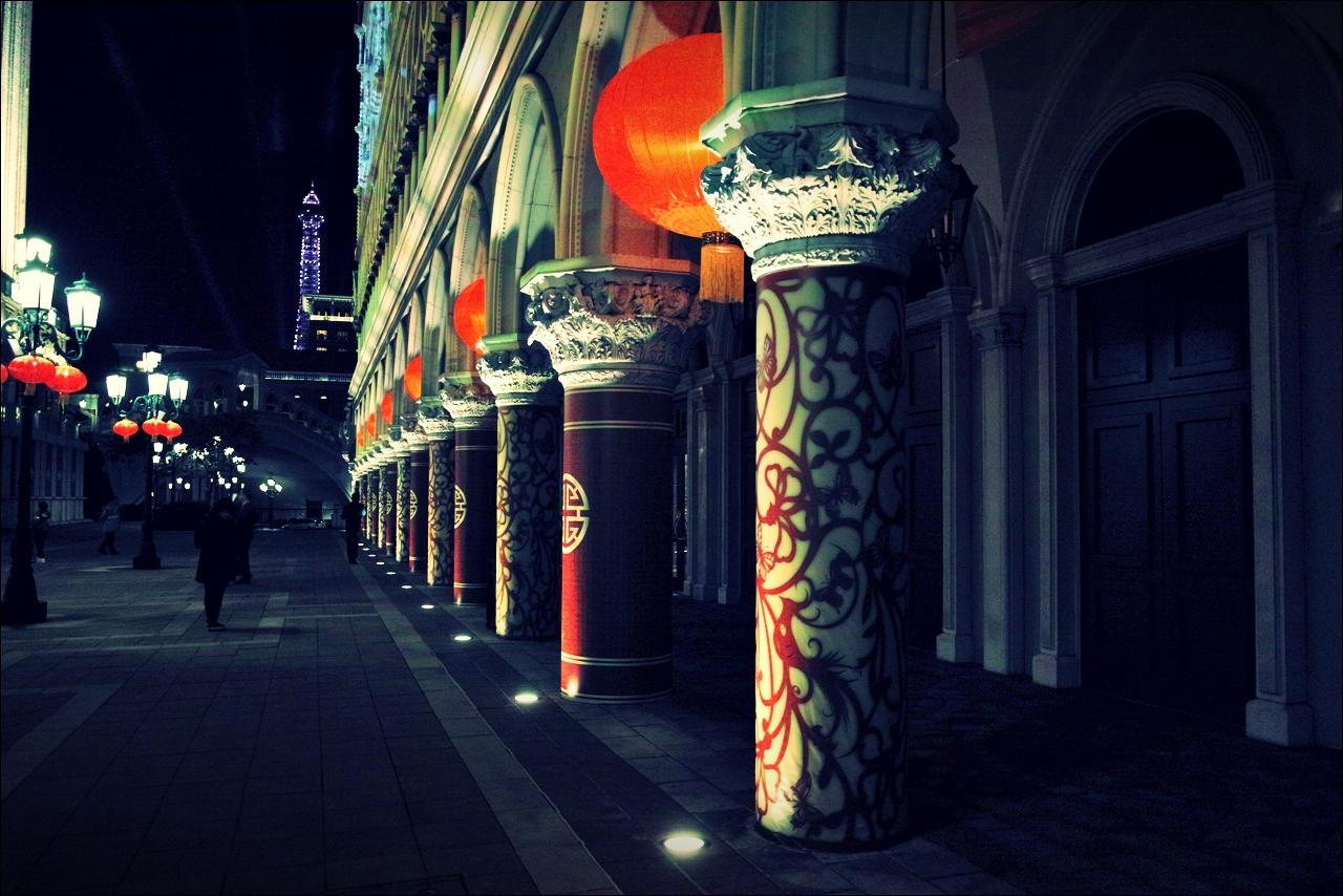 기둥-'베네치안 마카오 리조트(The Venetian Macao Resort Hotel, Cotai, Macau)'