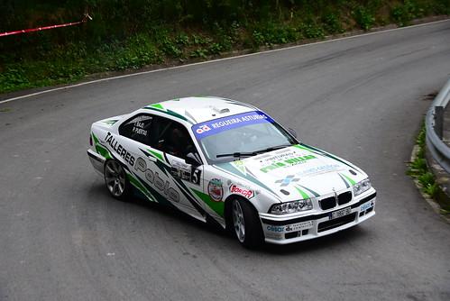 Pablo Jesús Puertas - Julián de Dios, BMW M3, X Rallysprint de Lanestosa Karrantza 2017