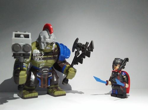 Lego Thor Ragnarok Hulk vs Thor | Progress: Loki green ...