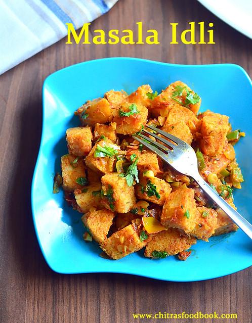 How to make masala idli