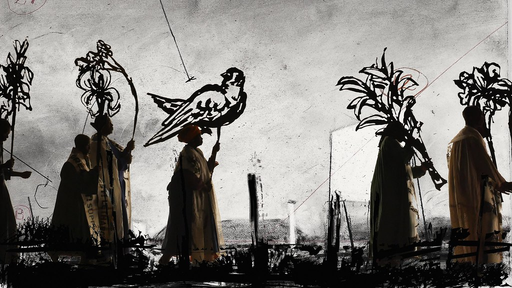 Image result for Smoke Ashes Fable by William Kentridge