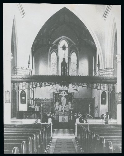 Interior circa 1970 | by Holy Trinity Church, Lenton