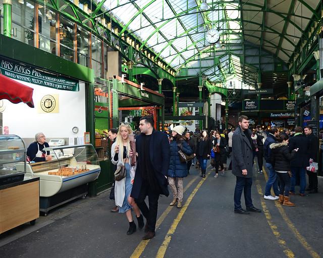 Borought Market, uno de los mejores mercados que ver en Londres