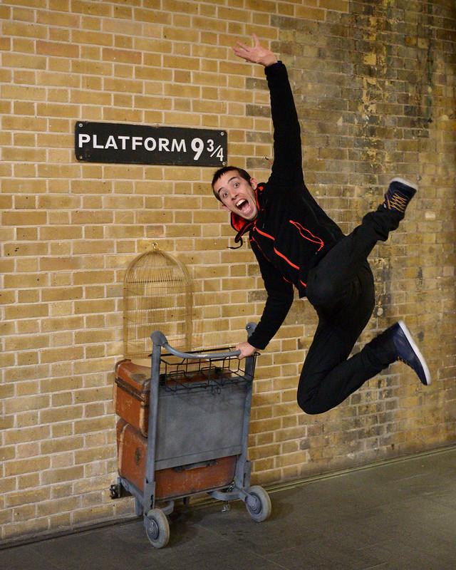 Anden 9 y 3/4 de Harry Potter en Londres