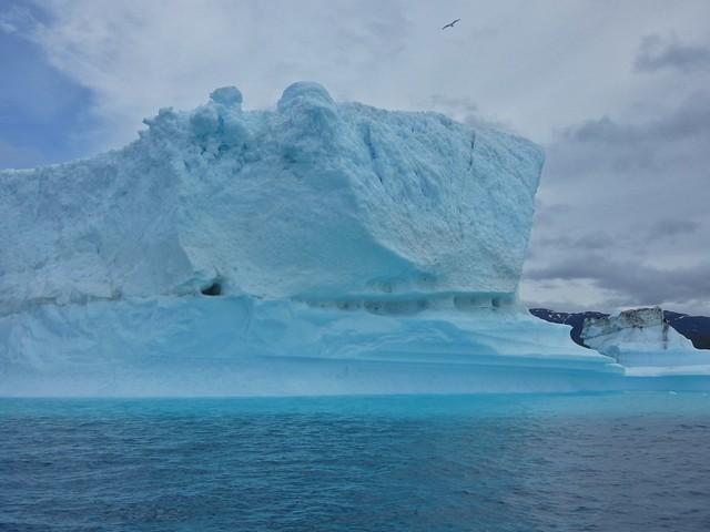 Iceberg en el sur de Groenlandia