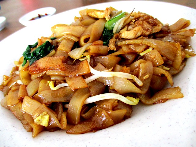 Rejang Park Market fried kway teow