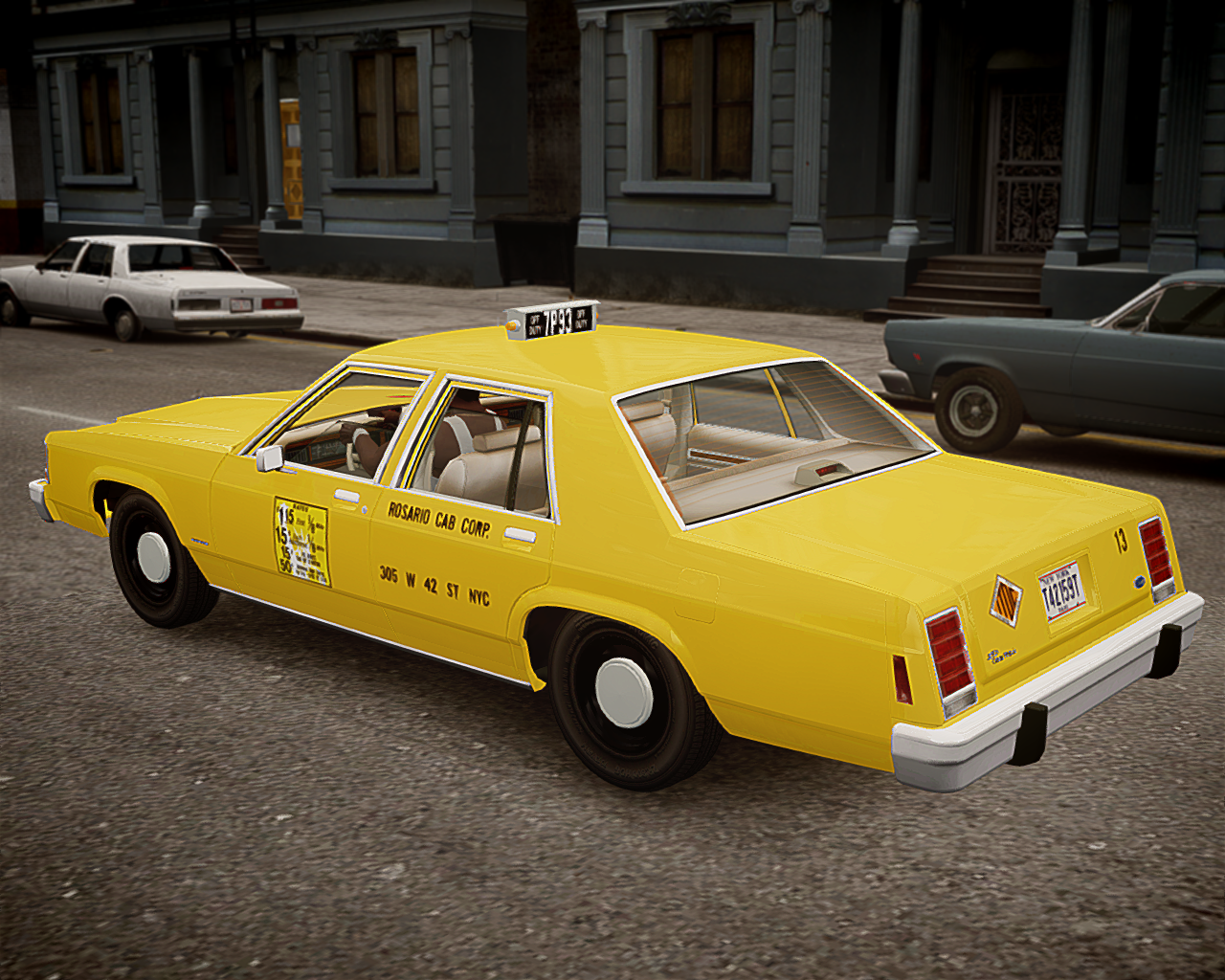 Iv Wip Project Nyc 1980s Vehicles Gtaforums 1980 Ford Crown Victoria Taxi 35352050173 5101190395 O