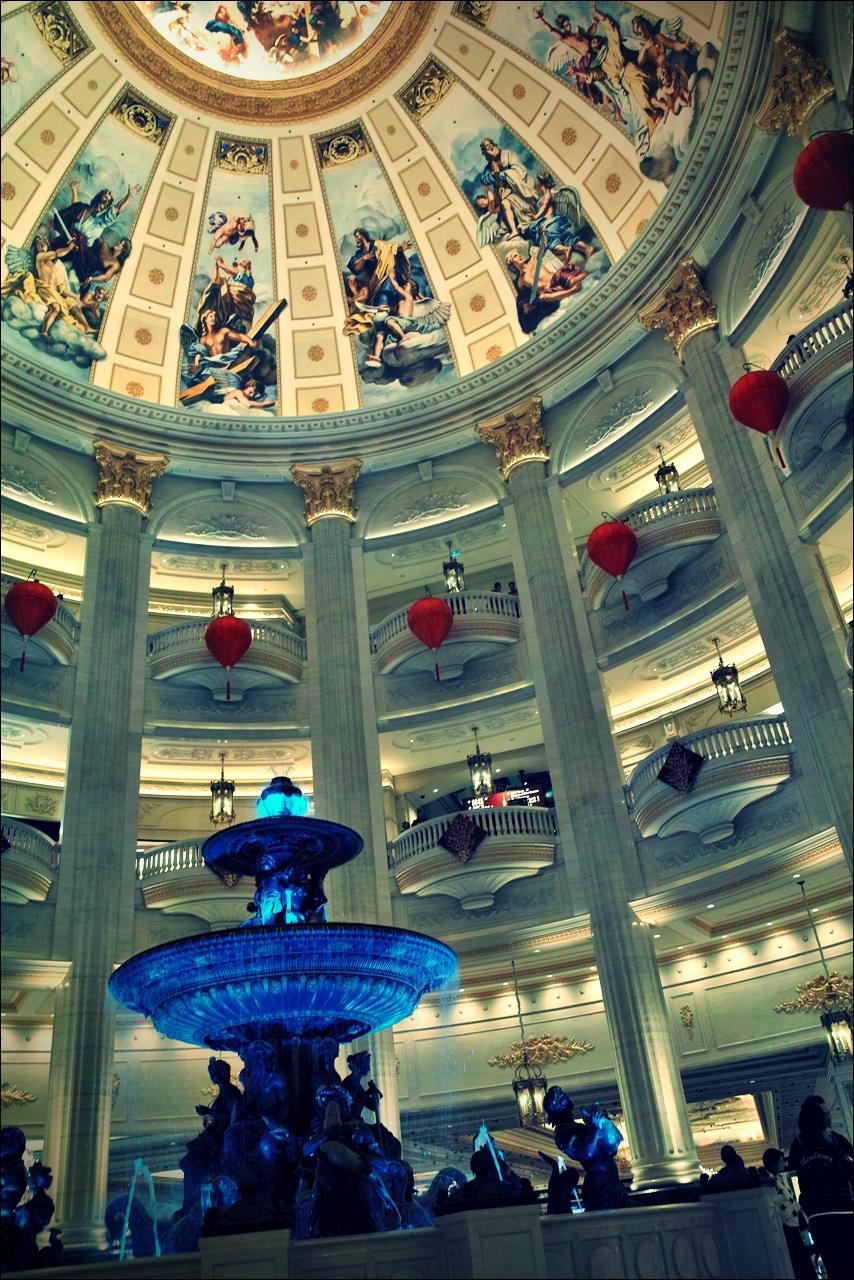 베네치안 내부-'베네치안 마카오 리조트(The Venetian Macao Resort Hotel, Cotai, Macau)'