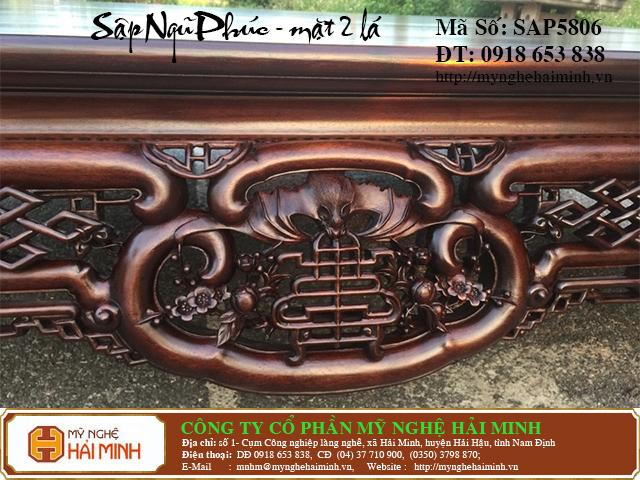 SAP5806d  Sap gu Ngu Phuc Mat 2  do go mynghehaiminh