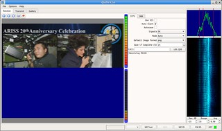 SSTV decode in progress with QSSTV | by csete