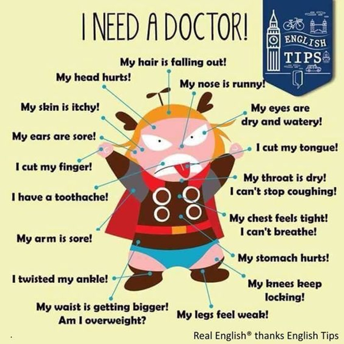 Useful Phrases to Use at the Doctor's 3