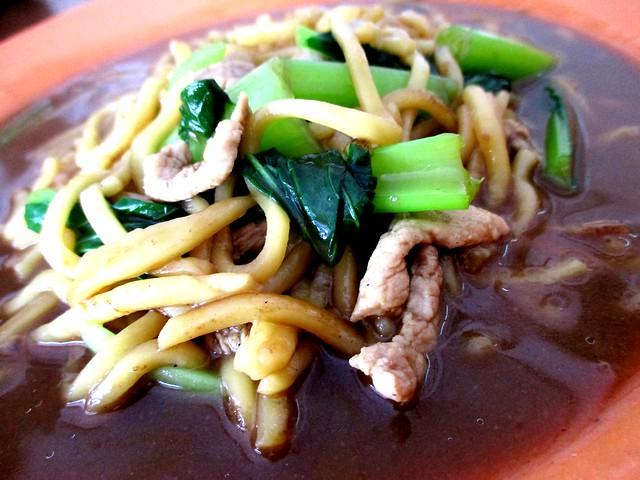 Rejang Park Market Foochow fried noodles