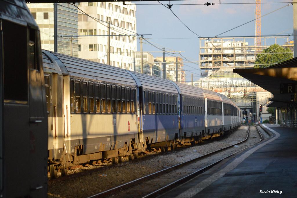 Train Paris Austerlitz Nice Ville