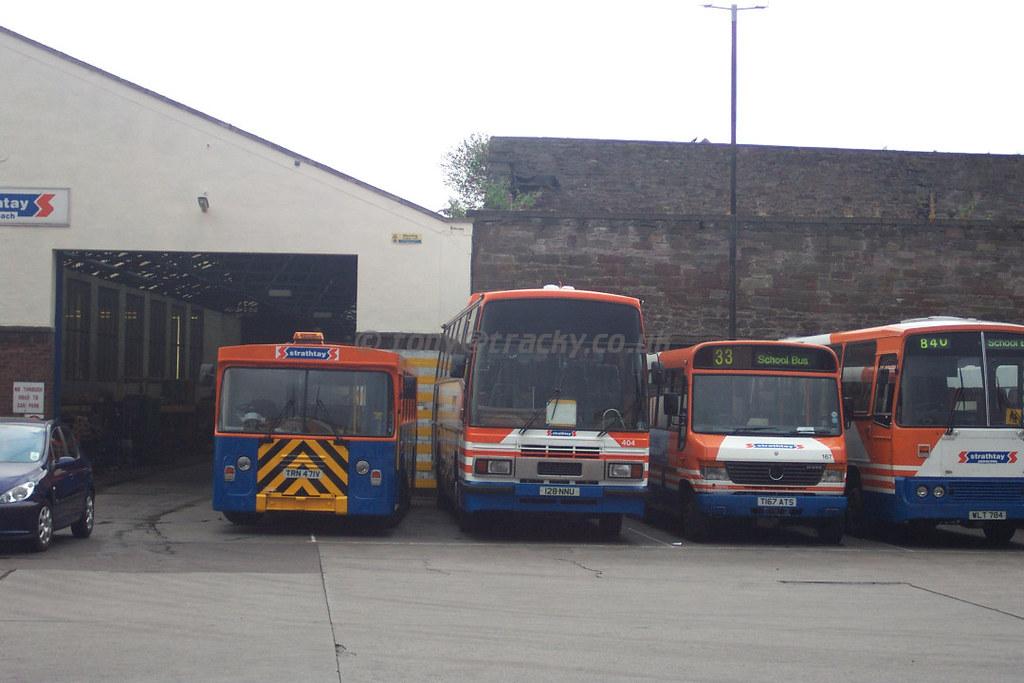 Left TRN471V, ex RoadCar decker  404    ex Barnsley and Di