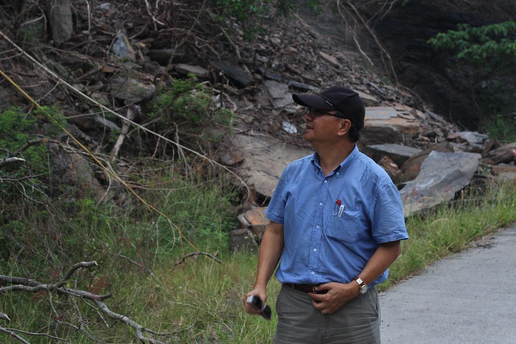 屏科大工學院長丁澈士認為大潮州人工湖有望實踐「增援減洪」的原理。攝影:廖靜蕙