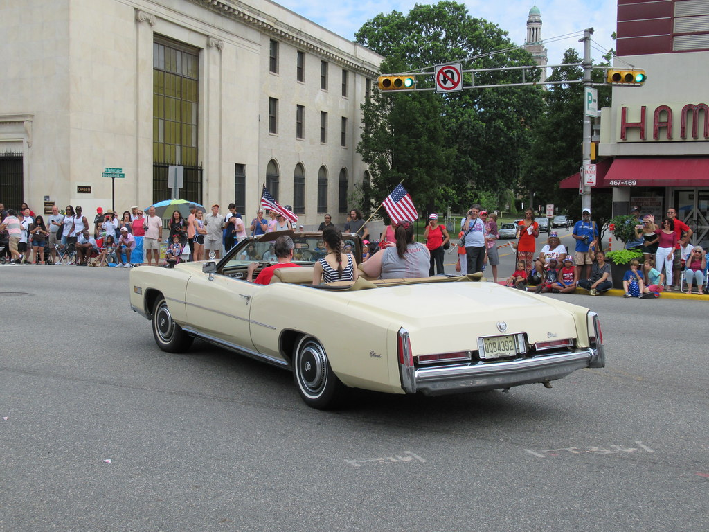 Cadillac Eldorado Convertible 2017 Independence Day Parad Flickr
