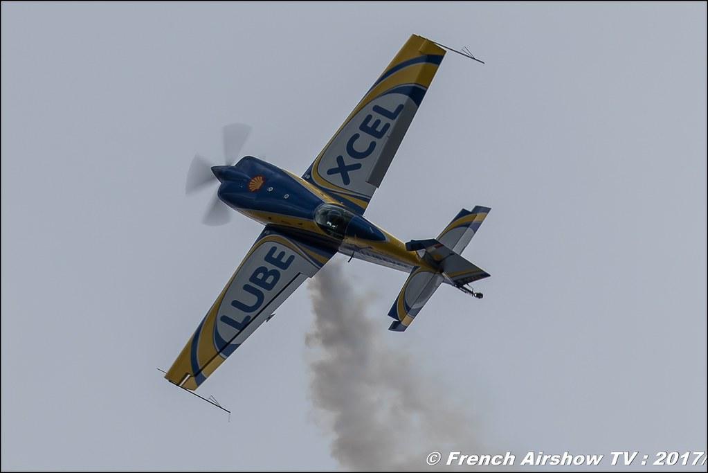 Lubexcel airshow Extra 330SC F-HXEL , Meeting de France 2017 , Dijon longvic , Bleuciel Airshow, meeting aerien dijon 2017 , Meeting aerien de France a Dijon
