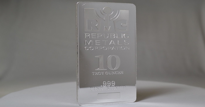10 oz silver bars are great for stacking the 10 ounce