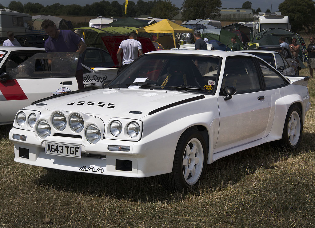 1984 white opel manta 400 coupe a643 tgf seen at the. Black Bedroom Furniture Sets. Home Design Ideas