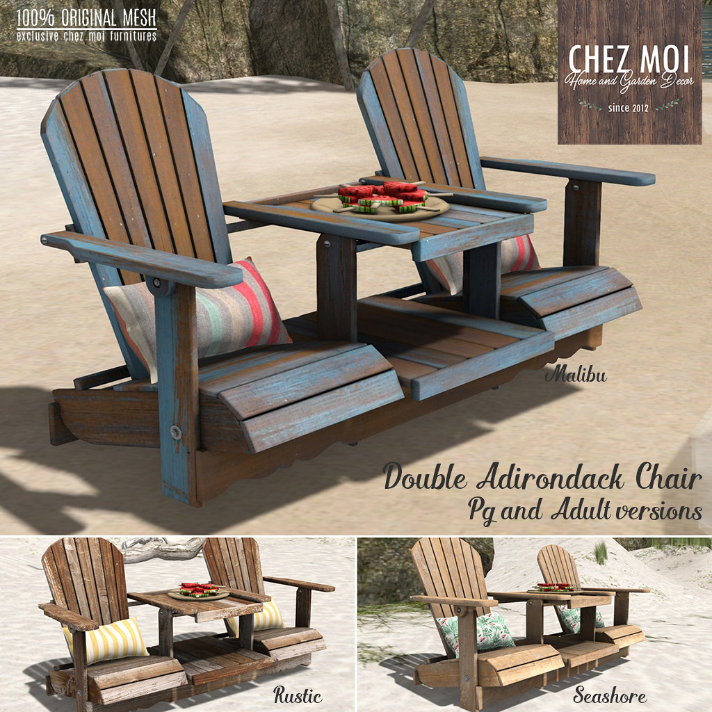 ... Double Adirondack Chair CHEZ MOI | By NEW CHEZ MOI FURNITURES