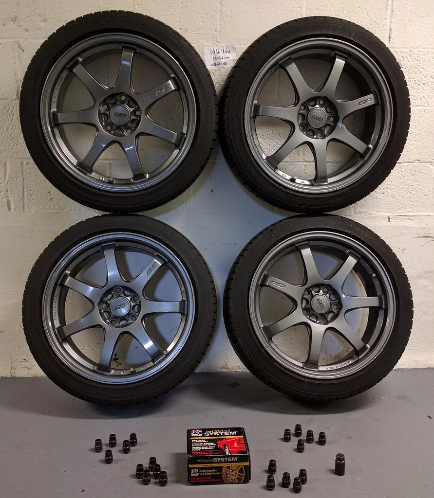 FS: 1st Gen Mugen GP Wheels