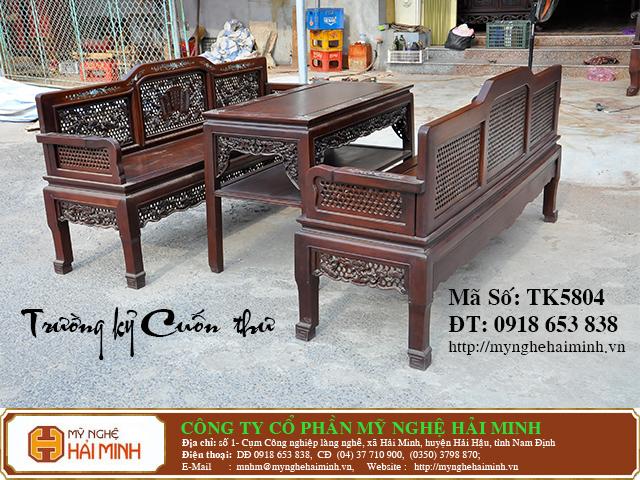TK5804b  Truong ky Cuon Thu  do go mynghehaiminh